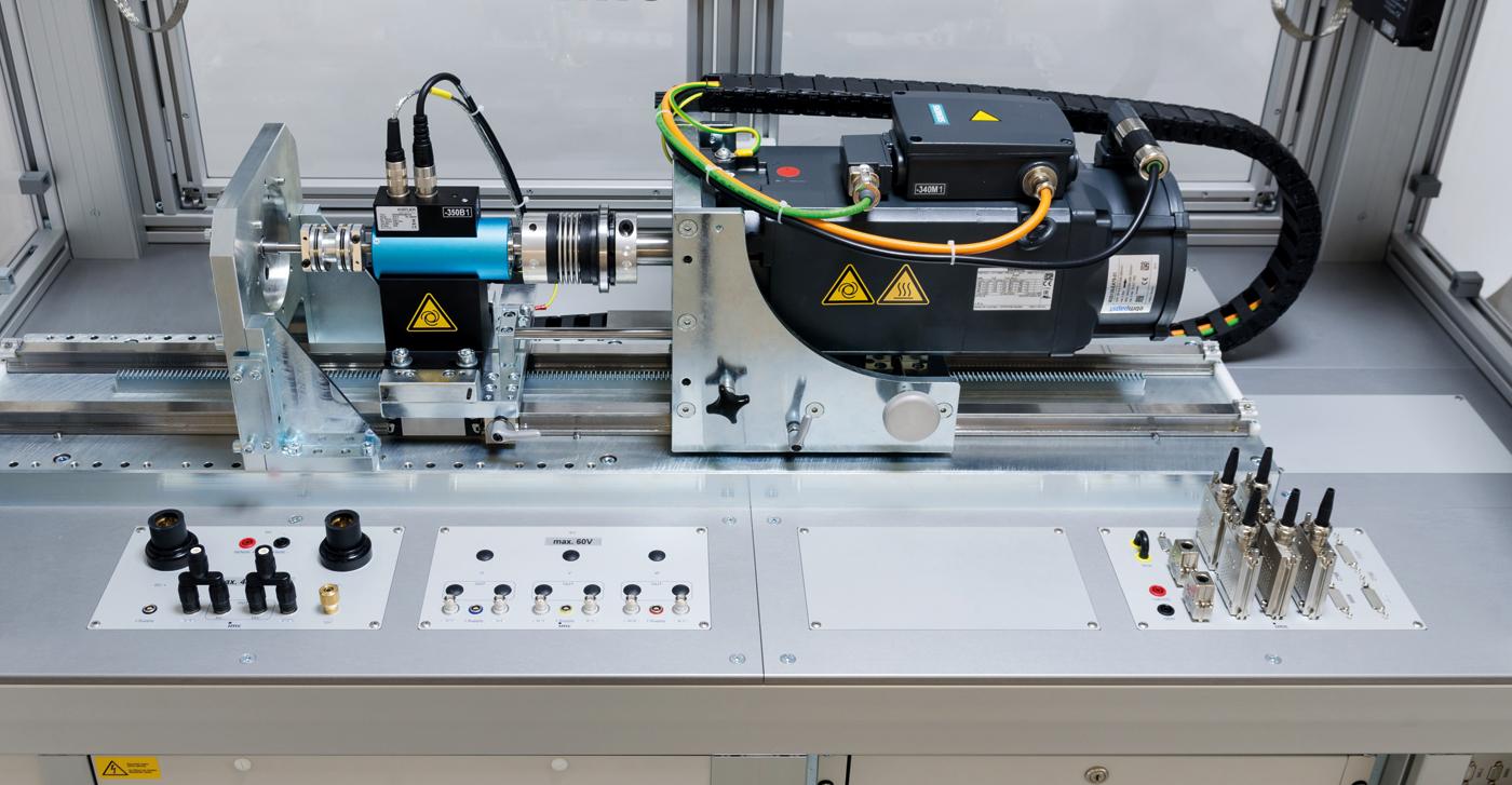 Development test stands for E-motors - productive testing